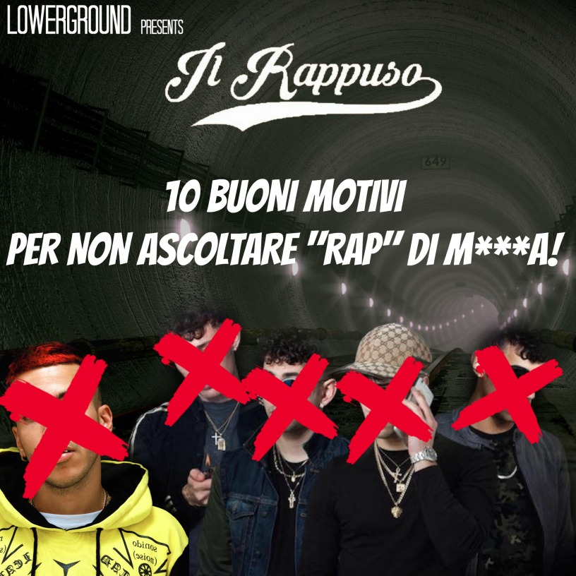 Photo of 10 motivi per non ascoltare rap di m***a!