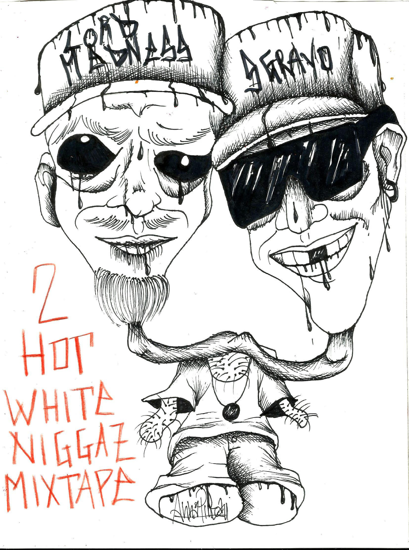 "Photo of Lord Madness e Sgravo ""2 Hot White Niggaz"" mixtape: FREE DOWNLOAD!"