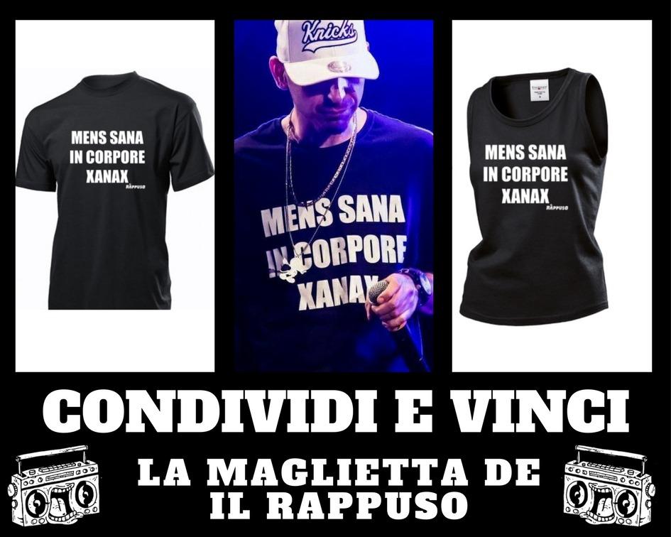 Photo of Vinci la maglietta de Il Rappuso