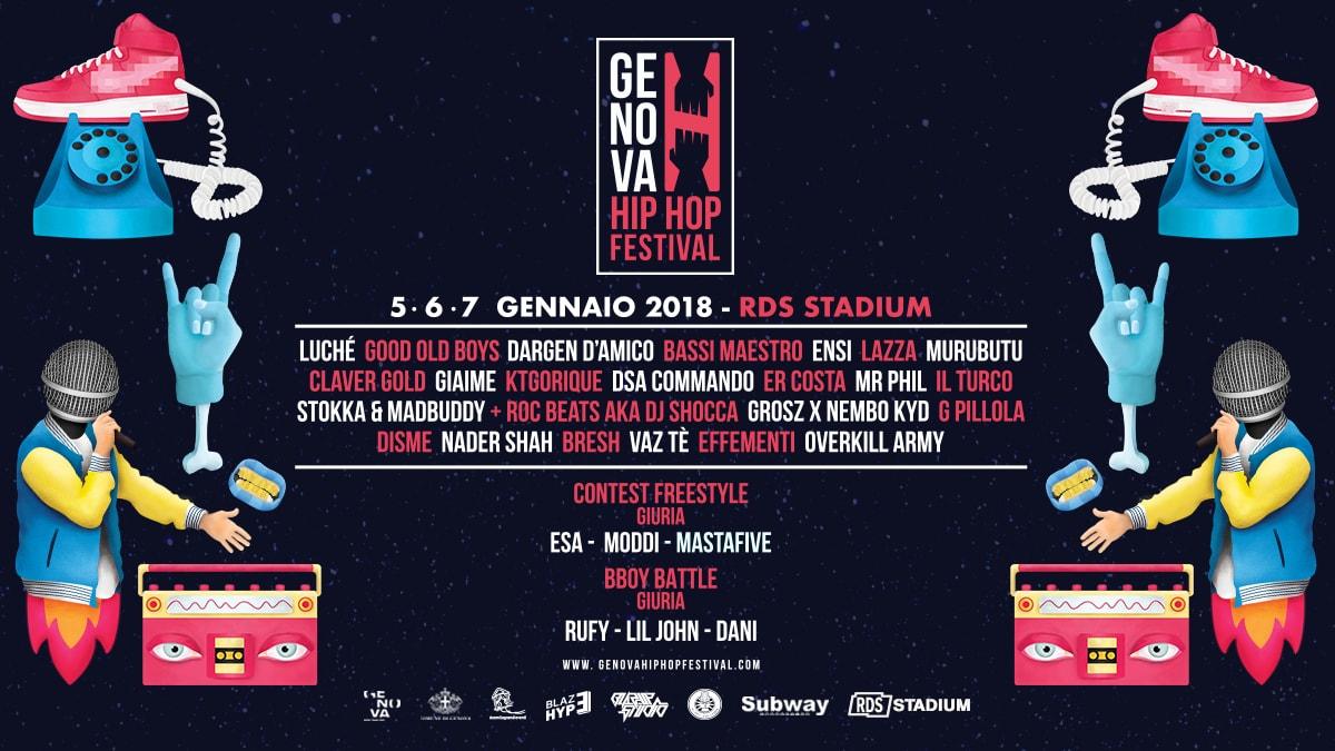Photo of Genova: Festival dell'hip hop dal 5 al 7 Gennaio