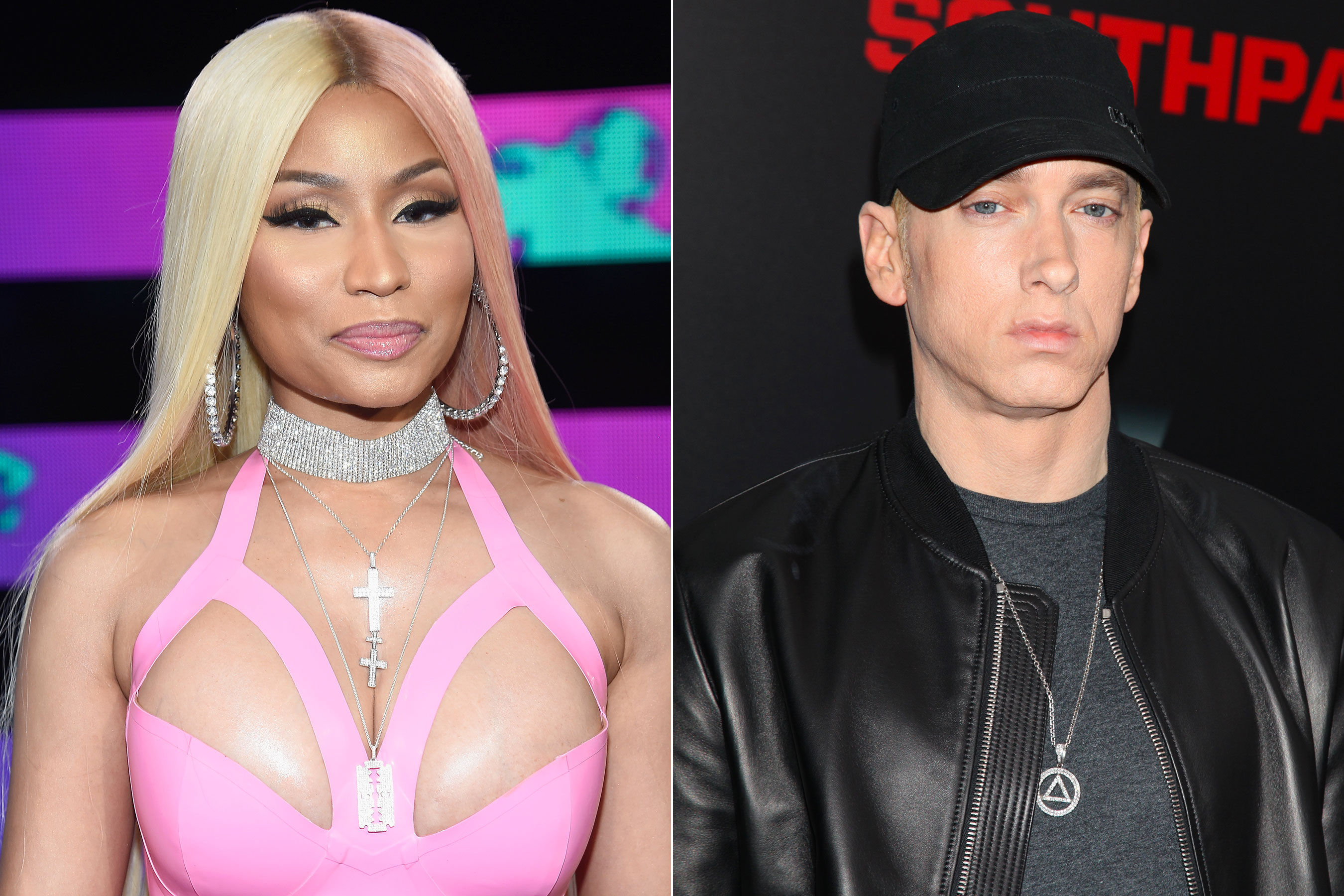 "Photo of Nicki Minaj conferma:"" Si, sto uscendo con Eminem""."