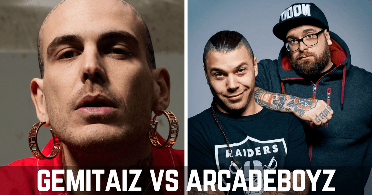 "Photo of Gemitaiz vs Arcade Boyz: ""Siete due falliti con una webcam"" [VIDEO]"