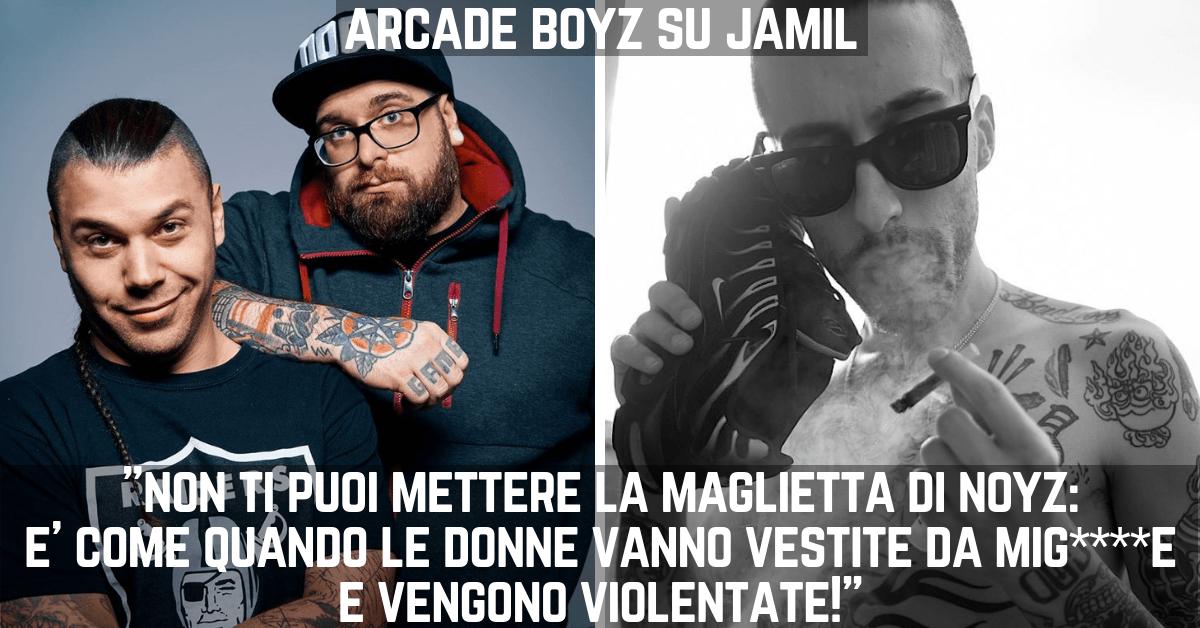 """Photo of ArcadeBoyz su Jamil:""""Come quando le donne vanno vestite da mig****e e vengono violentate!"""""""