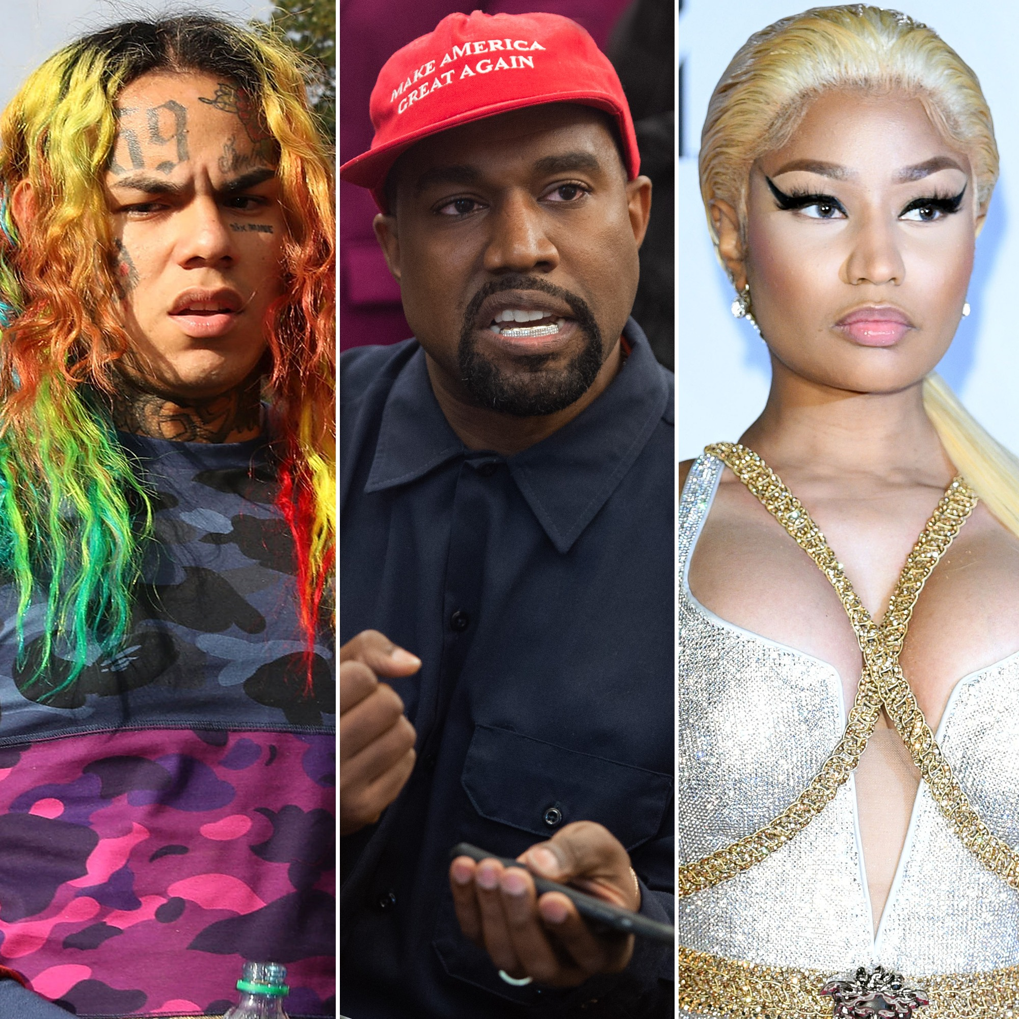 Photo of Attentato a colpi di pistola contro Tekashi 6ix9ine, Kanye West e Nicki Minaj
