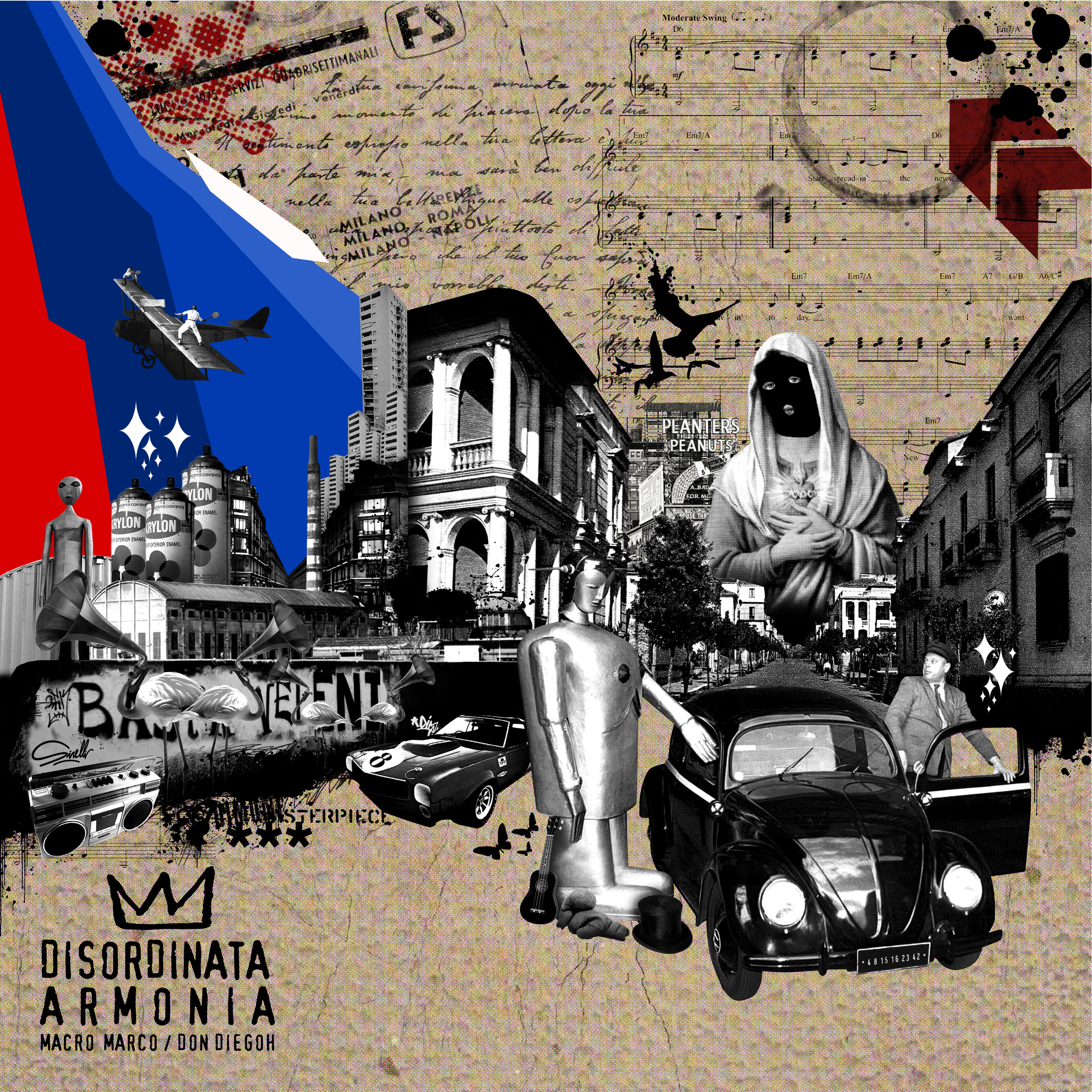 Photo of Disordinata Armonia è il nuovo disco di Don Diegoh e Macro Marco. Storie di ritorni a casa