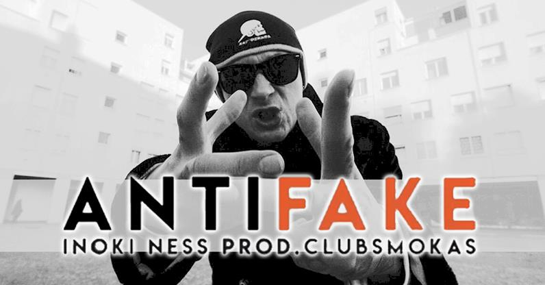 "Photo of INOKI NESS FUORI CON ""ANTIFAKE"" (prod CLUBSMOKAS)"