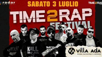 """Photo of """"Time 2 Rap Festival"""", a Villa Ada il rap incontra il metal"""